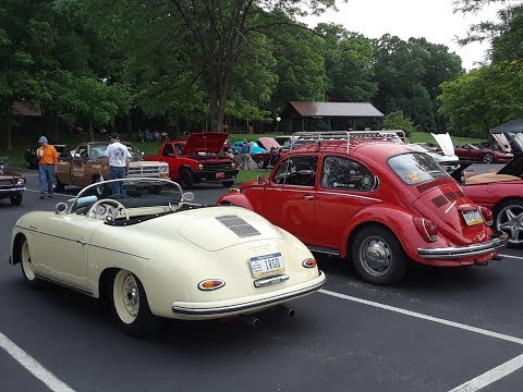 3rd Krusin' for Kids Car, Truck & Motorcycle Show Two Air Cooled Gems
