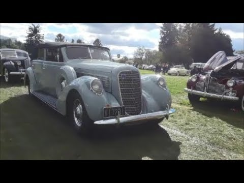 The Classic Car Parade As We Bid A Fond Farewell To the 2018 AACA Fall Meet, Hershey 1