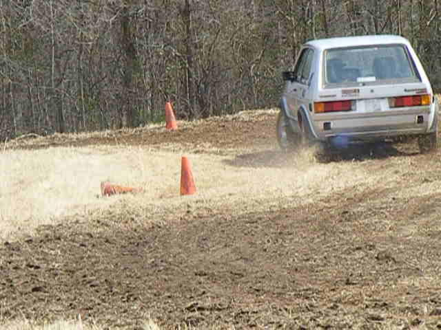 Rabbit at ALSCCA RallyCross