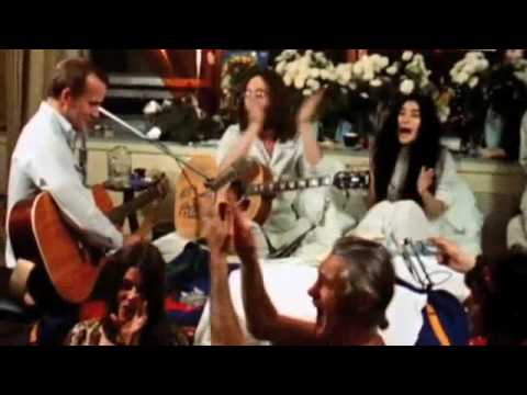 John Lennon Give Peace A Chance (Official Music Video)