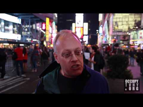 """Chris Hedges: """"This one could take them all down."""" Hedges on OWS w/ OccupyTVNY -- 10/15/11"""
