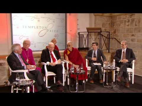 Templeton Prize Media Panel with His Holiness the Dalai Lama
