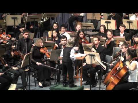 Edward Yudenich - 7 years old conductor.mpg
