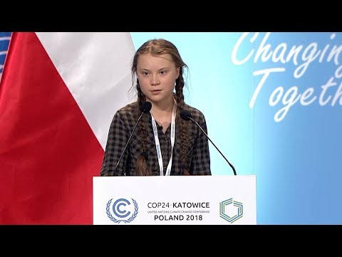 Greta Thunberg, 15, Condemns the World's Inaction on Climate Change