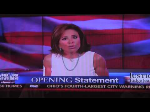Judge Jeanine Told Pope Francis; Now She Tells Obama!!