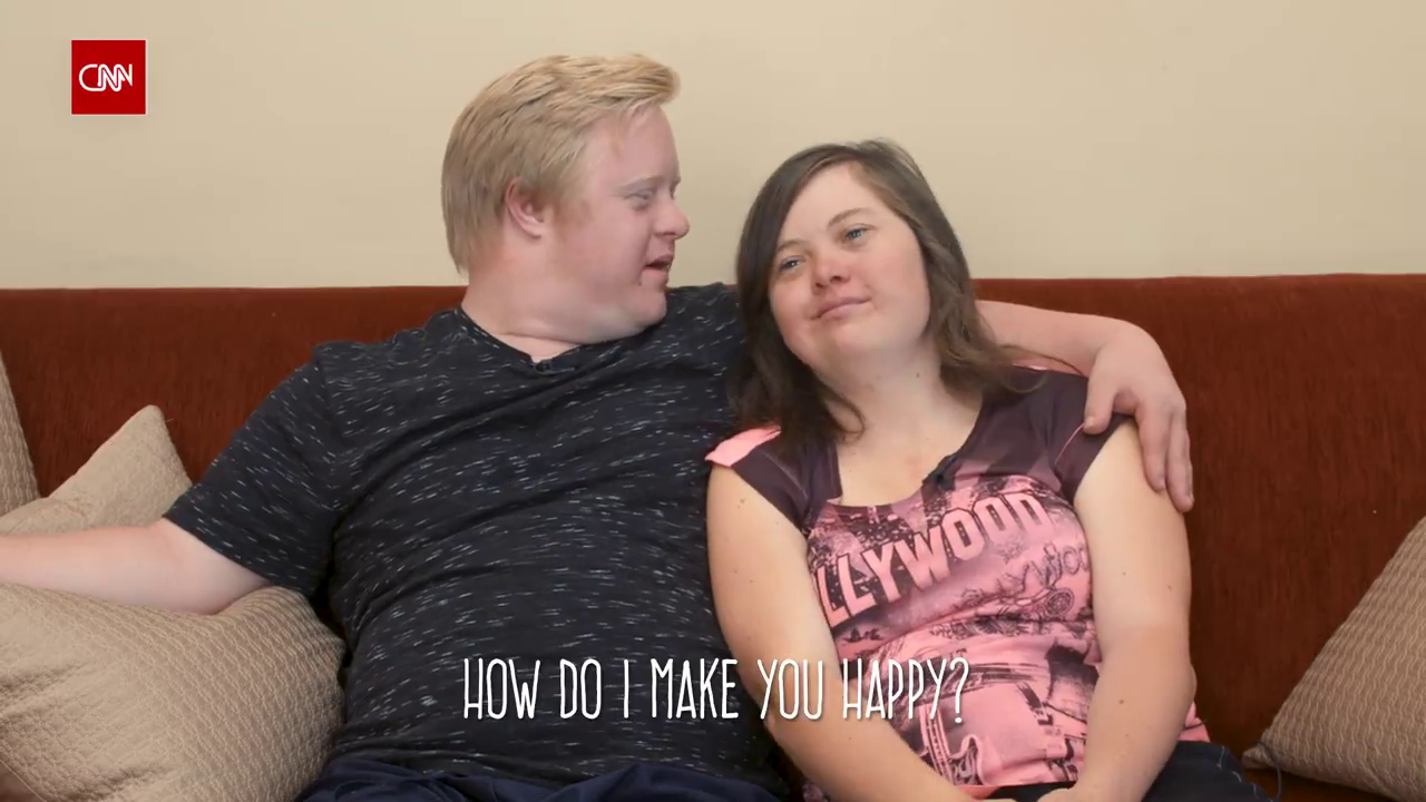 Couple with Down syndrome 'Love is love'
