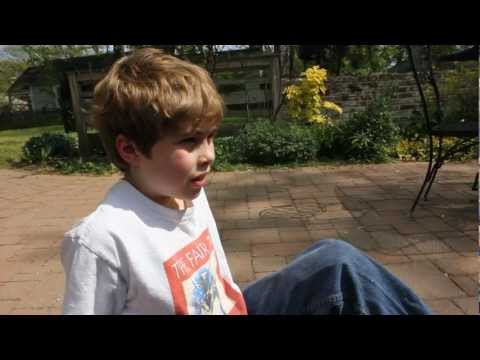 9 year old discusses the meaning of life and the universe