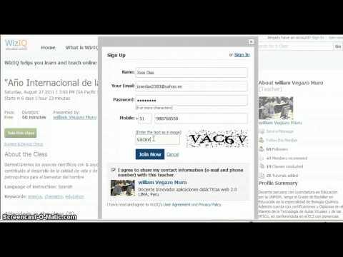 Tutorial Clase virtual AIQ 2011