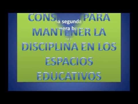 Consejos para mantener la disciplina en el aula