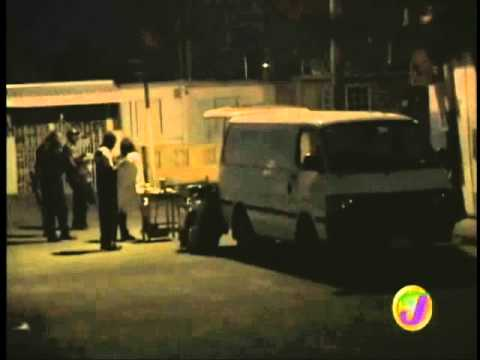 TVJ - 5 MEN KILLED IN DRIVE BY SHOOTING DURING DOMINO GAME {JAMAICA}