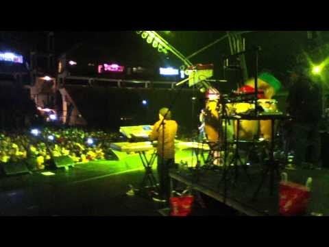 Damian Marley live in Dominica at the World Creole Music Festival