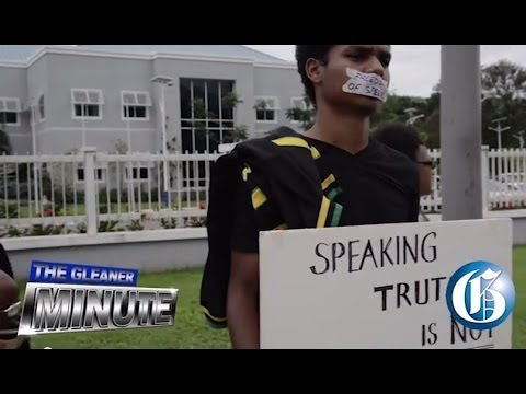 THE GLEANER MINUTE: 'Spineless UWI'... Gay rights betrayal... Child-friendly police station