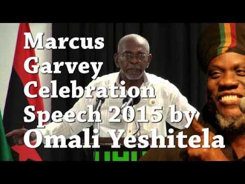 Omarli Yeshitela in Jamaica on The Running African 16/08/2015