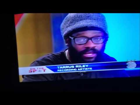 Wayne Lonesome & tarus Riley talking against the Dub splicing, on Live at 7 CVM Tv