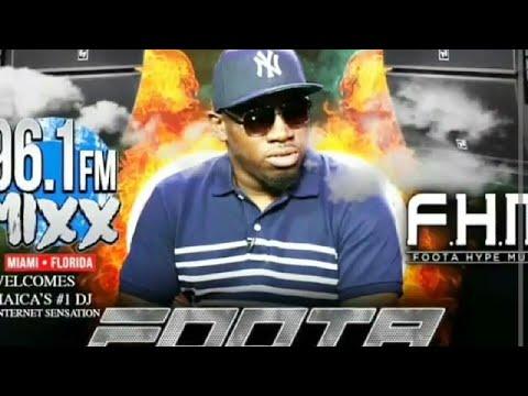 Foota Hype Which Artist Run Dancehall Episode On Mixx 96 Miami Radio