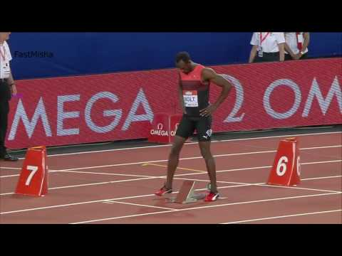 Usain Bolt wins Men's 200m Final at London Diamond League 2016 HD