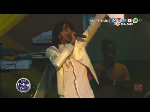 Alkaline performance at Reggae Sumfest 2017 Tommy lee diss