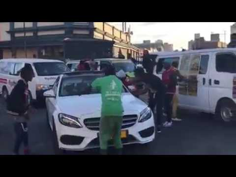 Busy Signal Presidential Arrival caused Ruption in the streets of Zimbabwe July 31 2017