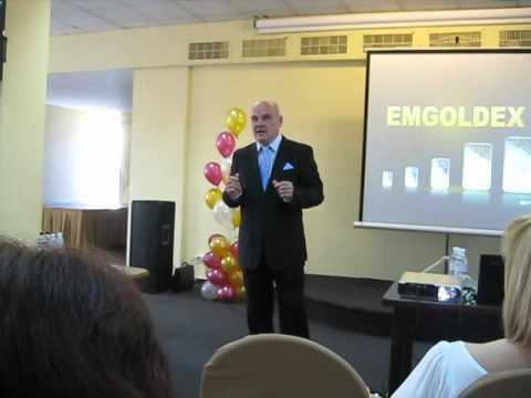 Бизнес - форум компании EMGoldex в Киеве 12/05/2012г.