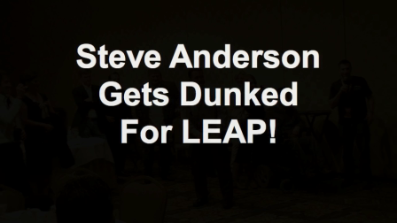 Steve Anderson Gets Dunked For LEAP!