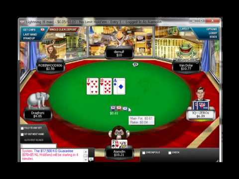 Tutorial Rush Poker 02  2/2