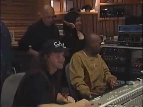 2Pac In Studio Recording Song