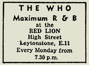 Mod'tastic 50 Years of The Who at The Red Lion Leytonstone