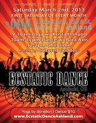 Ecstatic Dance (EVERY 1st SATURDAY)