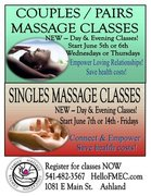 Couples/Pairs Massage Class