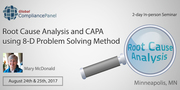 Root Cause Analysis and CAPA using 8-D Problem Solving Method 2017