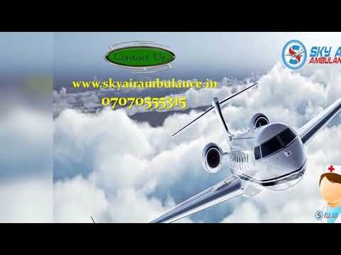 Choose India's Credible ICU Setup Air Ambulance Service in Allahabad by Sky