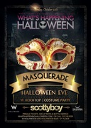 W Masquerade Party W Hollywood Halloween