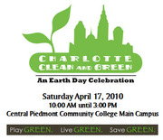 Charlotte: Clean & Green, an Earth Day Celebration!