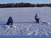 Kids in Nature & Trustworthy Hardware Ice Fishing Derby Kick-off