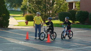 Children's Bike Safety Course during National Night Out
