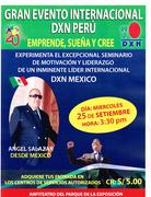 GRAN EVENTO MOTIVACIONAL LIMA - PERU