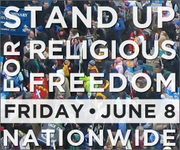 STAND UP FOR RELGIOUS FREEDOM