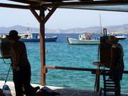 Plein Air Workshop on Greek Island