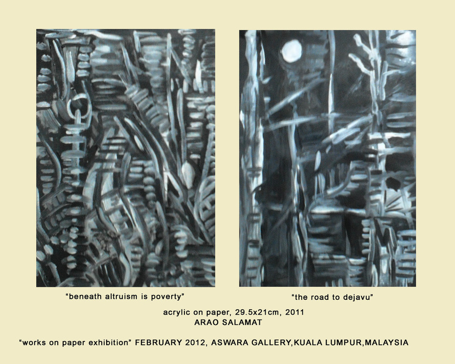 """MALAYSIA..ASWARA ENTRY """"WORKS ON PAPER """" EXHIBITION FOR SUZLEE"""