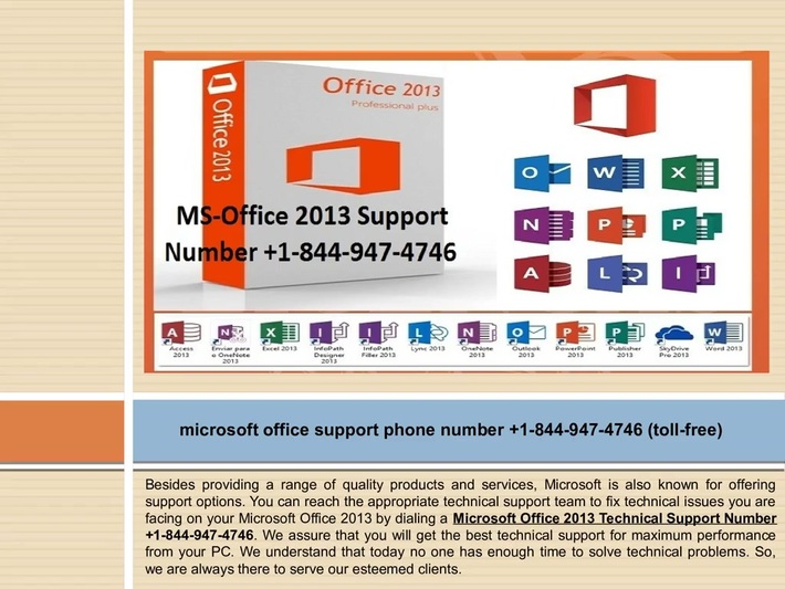 Microsoft Office 2010 Crashing Call +1-844-947-4746 Microsoft Office Support Phone Number