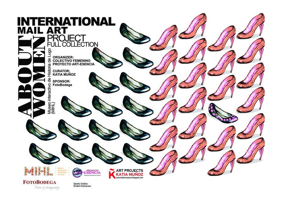 INTERNATIONAL MAIL ART PROJECT #ABOUTWOMEN