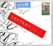 "cover for ""letters"""