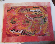 Inside of mail art received from Kaliko