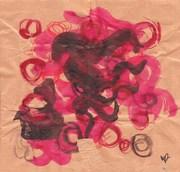In: Rojo y negro en papel de chocolate