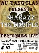 Wu Tang CLan Presents: Shabazz The Disciple
