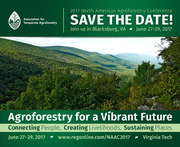 2017 North American Agroforestry Conference - Call for Session Proposals