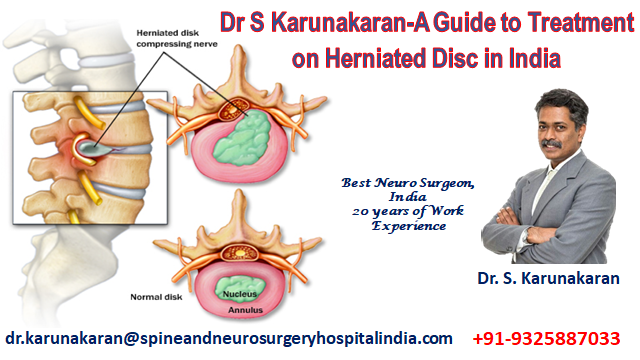 Dr S Karunakaran-A Guide to Treatment on Herniated Disc in India