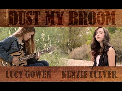 From Russia 11 yr old guitarist Lucy Gowen Dust My Broom slide guitar