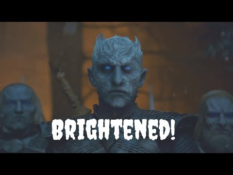 Arya Stark Kills Night King (with Jon's Help) End Scene Full | Brightened 3 Stops