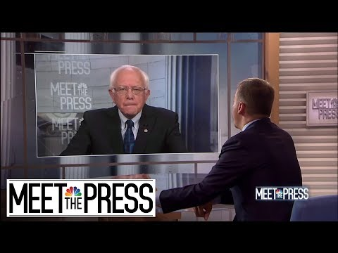 Bernie Sanders: Consistently antiwar, against Vietnam War, against Iraq War, against Yemen war, against prospect of war with Iran | Meet The Press